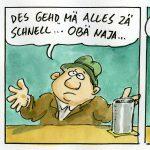 Comic von Marc Buchner